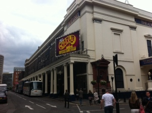The majestic looking Kings Theatre on Drury  Lane