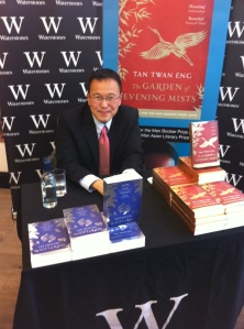 Tan Twan Eng has just signed two books for me!