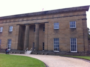 Could this be Pemberley House or indeed Hartfield?