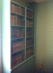 These books were originally in the New Lanark library established by Robert Owen for the benefit of the villagers.