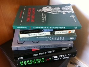 Just one of my Canadian Booktowers