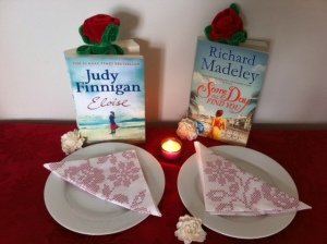 The real symbol of book lover's day - Two books - from real life married couple. One written by the wife, the other by the husband. Book lover's unite!