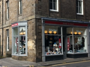 The charity shop in Morningside where the Peploe painting ends up