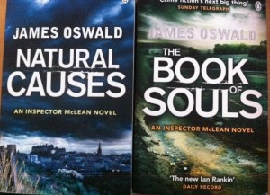 Interview with James Oswald - writer of these two very fine books!
