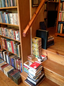 books carpet the stairs