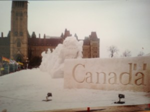 A cold winter in Ottawa