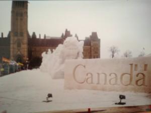 A cold winter in Ottawa