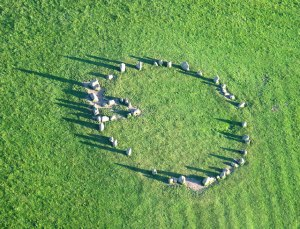 Druid stone circle near Keswick courtesy of Wikipedia