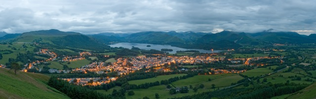 Keswick and Derwentwater courtesy of Wikipedia