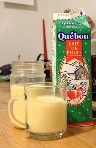 Eggnog from Canada - courtesy of Wikipedia