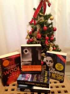 Books with Christmas and winter themed titles