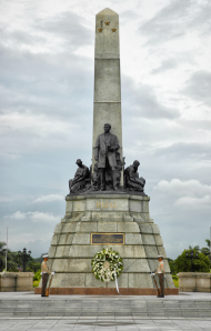 The Rizal Statue courtesy of Wikipedia