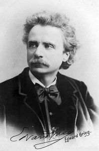 Edvard Grieg  - image courtesy of Wikipedia