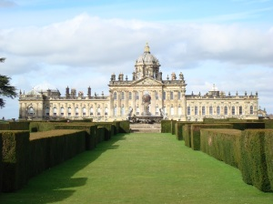 Castle Howard in Yorkshire image courtesy of Wikipedia