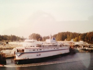 Take the ferry from Vancouver and start your literary adventure