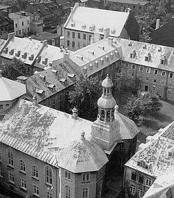 An ursuline Monastery in Quebec courtesy of Wikipedia