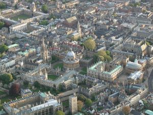 Oxford today - image courtesy of Wikipedia