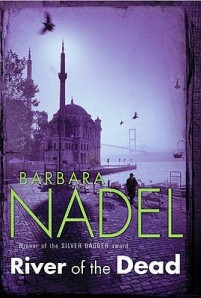 The atmospheric cover of River of the Dead by Barbara Nadel