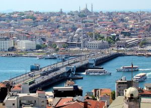 Galata Bridge - image courtesy of Wikipedia