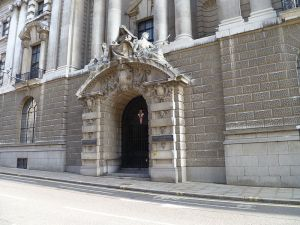 Entrance of the Old Bailey
