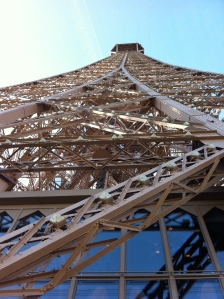 See the Eiffel Tower from a different angle