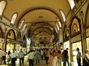 The Grand Bazaar of Istanbul - image courtesy of Wikipedia