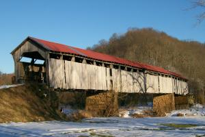 Knowlton_Covered_Bridge_Monroe County, Ohio - image courtesy of Wikipedia