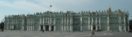 The epauletted shoulders f the Winter Palace - image courtesy of Wikipedia