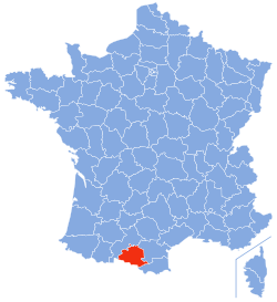 Ariège - image courtesy of Wikipedia