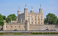The tower of London - image from Wikipedia