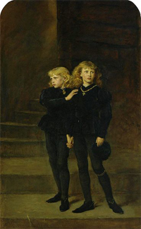 The Princes in the Tower - image from Wikipedia