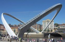 'The Blinking Eye' Bridge aka The Millennium Bridge