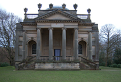 Beautiful Gibside chapel