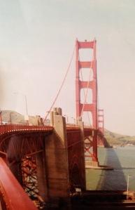 The Golden Gate bridge - (c) the booktrail