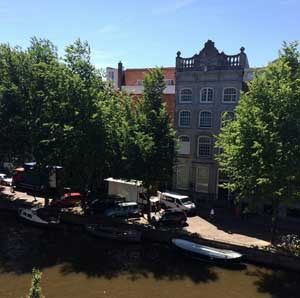 The Herengracht today - image courtesy of Jessie Burton