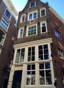 A house in Amsterdam which Nella could have walked past every time she went in search of the Miniaturist - (c) Jessie Burton