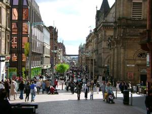 Glasgow's Buchanan Street today