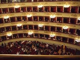 What Rosanna would have seen when singing at La Scala