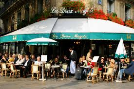 The famous and thankfully very real Deux Magots