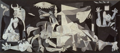 Guernica as painted by Picasso
