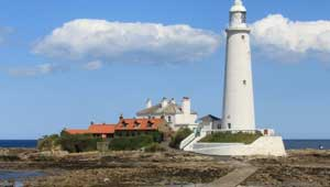 St Mary's Lighthouse in Whitely Bay/Seaton Sluice