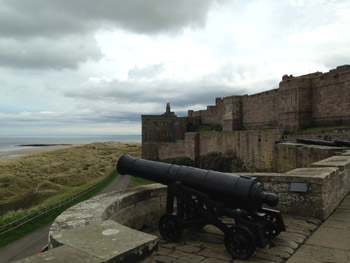 Majestic Bamburgh Castle