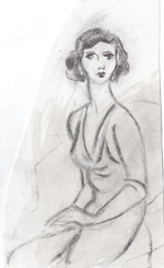 A sketch from Natalie's notebook