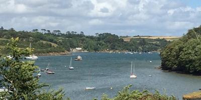 Liz's locations of choice - Cornwall! - Pic courtesy of Liz Fenwick
