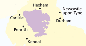 The area of the North Pennines