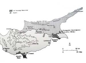 The map as seen in the novel