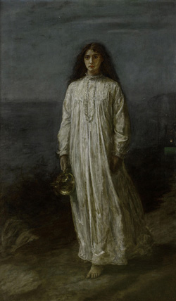 The Millais painting courtesy of Wikipedia