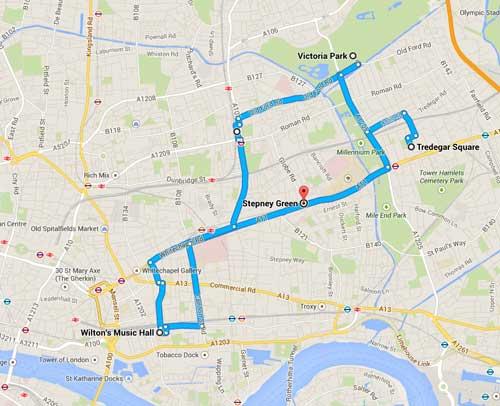 The Essie Fox Somnambulist tour of London