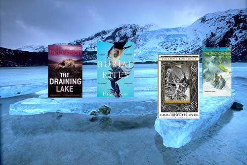 Some of the great and varied! Books set in Iceland - sagas, crime fiction and even a Hardy Boys adventure!