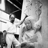 Paul Landowski sculptor in Paris 1875
